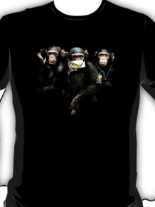 Speak no Evil, See no Evil, Hear no Evil. T-Shirt