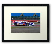 Toyota Racing No 7 Framed Print