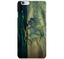 """""""SHIP OUT TO SEA"""" iPhone Case/Skin"""