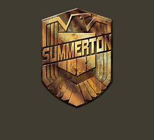 Custom Dredd Badge Shirt - (Summerton) Unisex T-Shirt