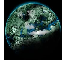 Planet Earth Photographic Print