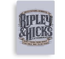 Ripley & Hicks Exterminators Canvas Print