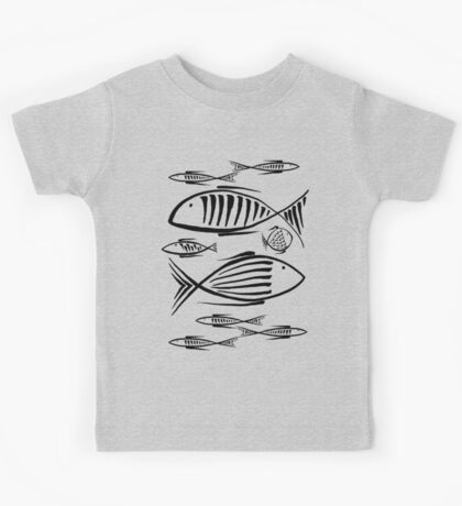 Small Fishes WB Kids Tee