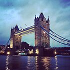 Tower Bridge, London at Dusk by will897