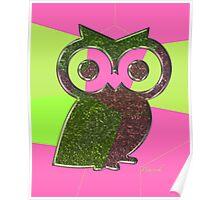 smart owl Poster