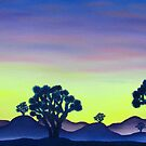 Joshua Tree Sunset by Joshua Bales
