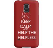 Help the helpless Samsung Galaxy Case/Skin