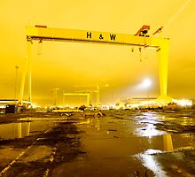 Belfast , Harland & Wolff Heavy Industries , Northern Ireland by Zdrojewski