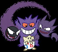 The Ghostly Trio by Macaluso