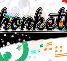 Shonkette (black) Sticker