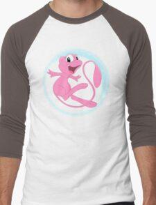 Mew! Men's Baseball ¾ T-Shirt