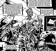 This is the End - Zombies on a Plane by CrossfireComics