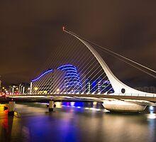 Samuel Beckett Bridge, Dublin. by Emmet Whelan