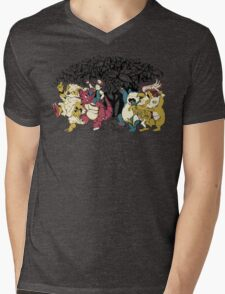 Where the Wild Monsters Are Mens V-Neck T-Shirt