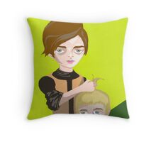 Arya Gets Her Prize Throw Pillow