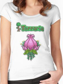 Terraria Plantera Women's Fitted Scoop T-Shirt