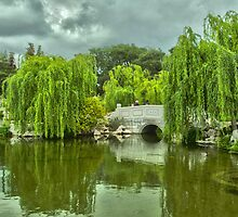 Japanese Garden at the Huntington Library. by philw