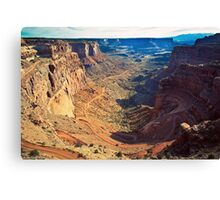 Canyon Country Curves Canvas Print
