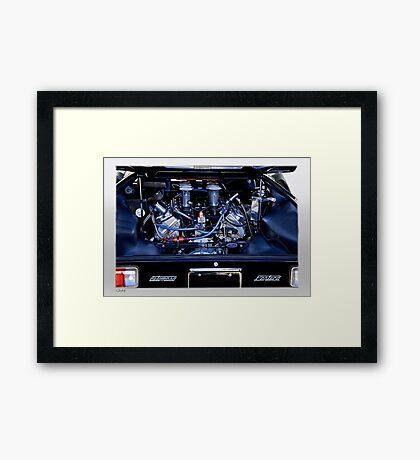 Pantera Power 'Size Matters' Framed Print