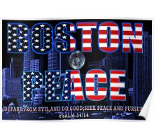✌☮† ❤ † BOSTON PEACE-MY HEART FELT SYMPATHY FOR BOSTON VICTIMS† ❤ †✌☮  Poster