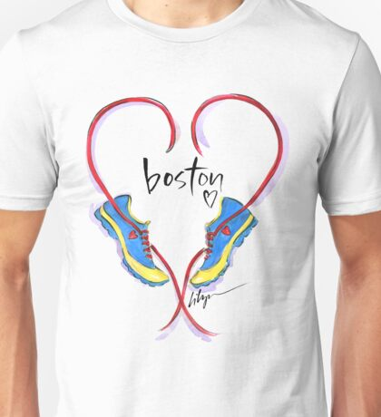 Hearts For Boston! Unisex T-Shirt