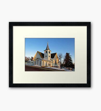 Baltic Lutheran Church Framed Print