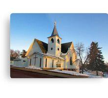Baltic Lutheran Church Metal Print