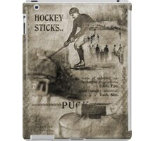 Vintage Hockey iPad Case/Skin
