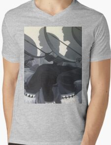 Drummers Mens V-Neck T-Shirt