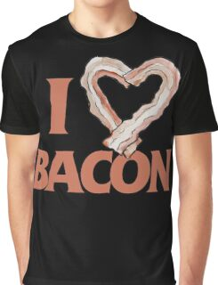 I love bacon Graphic T-Shirt