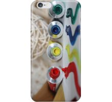 An Artist's Palette iPhone Case/Skin