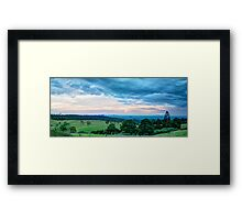 Glass House Cloud Scapes Framed Print
