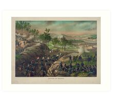 Civil War Battle of Resaca May 13-15 1864 by Kurz & Allison Art Print
