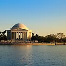 Jefferson Memorial by sunilirk
