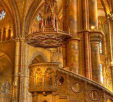 Mathias Church (Matyas Templom) Inside by Rozalia Toth