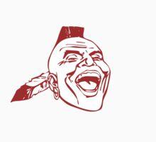 Atlanta Braves retro logo sticker by skegeebeast