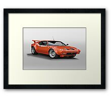 1972 De Tomaso 'Modified' Pantera Framed Print
