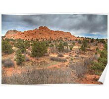 Garden of the Gods trails Poster