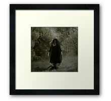 To go with my black heart Framed Print