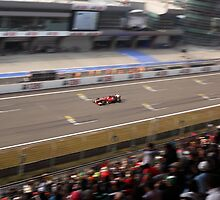 Fernando Alonso wins the 2013 UBS Chinese F1 Grand Prix by Mark Bolton
