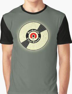 Vintage Rockabilly Vinyl Record Graphic T-Shirt