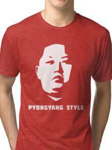 Pyongyang Style Tri-blend T-Shirt