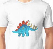 big blue friendly kentrosaurus Unisex T-Shirt