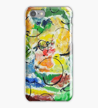 Swimming in Color iPhone Case/Skin