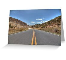 Highway 115  Greeting Card