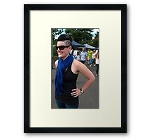 PERSON 2 Framed Print