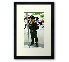 PERSON 3 Framed Print