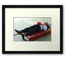 PERSON 5 Framed Print