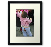PERSON 8 Framed Print