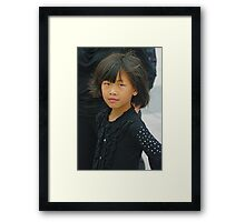 PERSON 10 Framed Print
